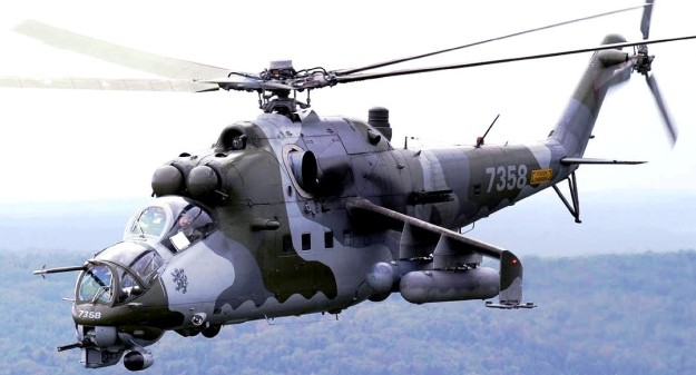 Mil Mi-24 Hind helicopter attack - 1