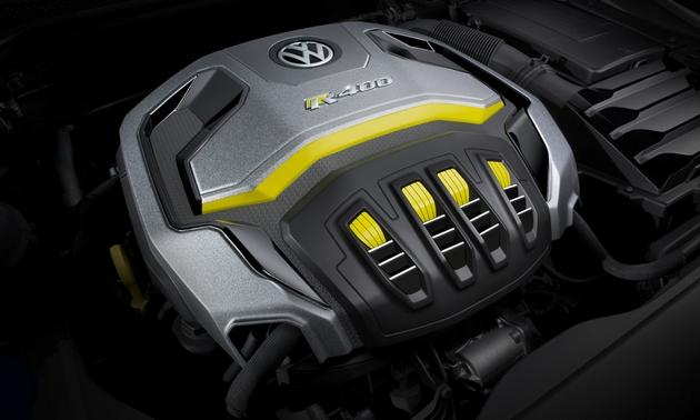 Volkswagen-VW-R400-Golf-engine-
