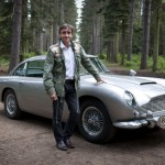 Richard Hammond i Aston Martin DB5