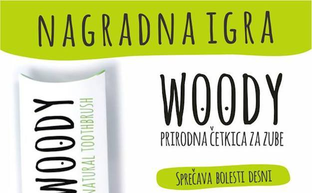 Photo of NAGRADNA IGRA: Woody, prirodna četkica za zube vas nagrađuje!