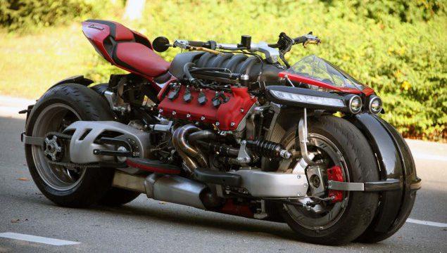 Photo of LaZareth LM 847 – moto zvijer sa V8 srcem Maseratija