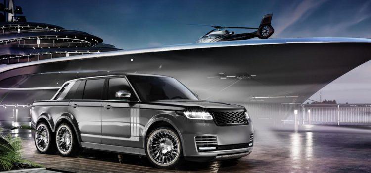 6×6 Range Rover za sve kojima četiri kotača nije dovoljno